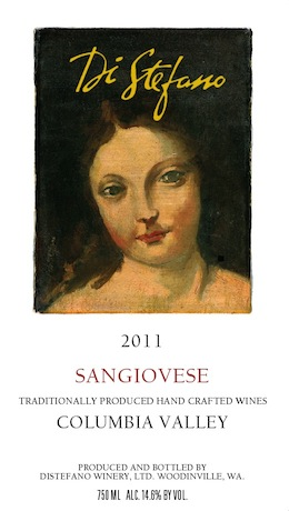 2011 Sangiovese - front